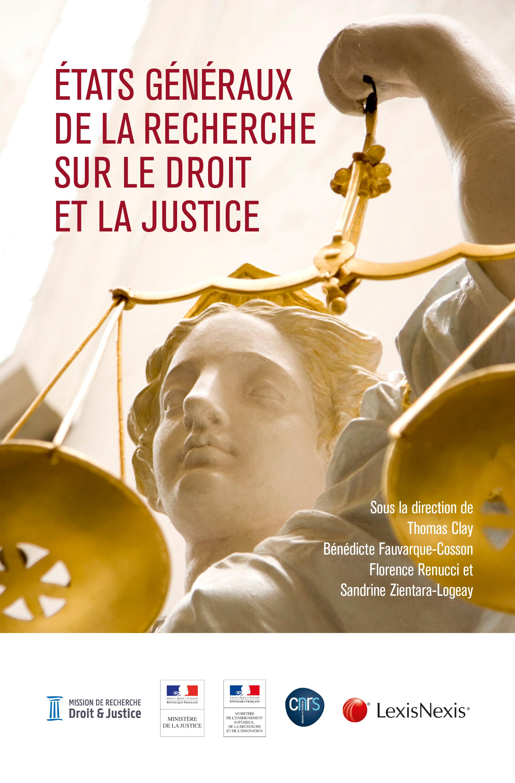 e77edd76812 À la une – Publication des actes des États généraux de la recherche sur le  droit et la justice